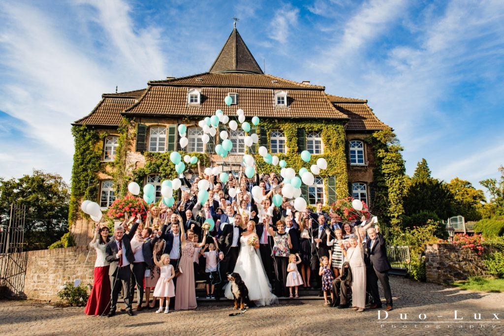 Hochzeit auf Schloss Linnep in Ratingen
